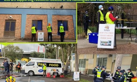 Sikh Volunteers Delivers Free Food To Melbourne Tower Lockdown Residents