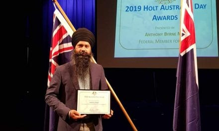 Australia Day Awards of Holt 2019