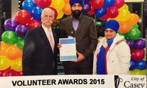 City of Casey Volunteer Awards 2015
