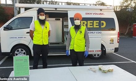 Selfless Sikh volunteers set up a free food home delivery service for people self-isolating during coronavirus crisis