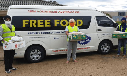 Sikh communities deliver meals to those in need