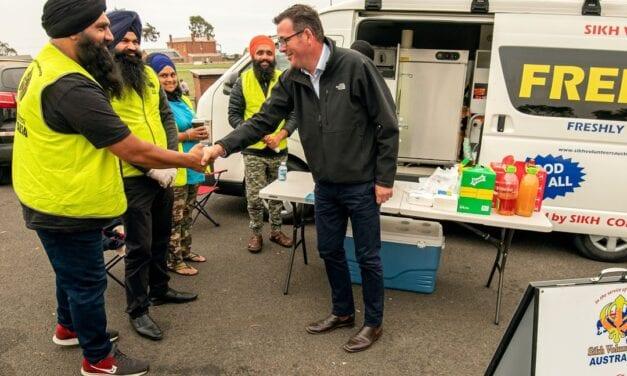 Dan Andrew's Post on Sikh Volunteers Australia