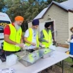 NSW Floods – Serving meals to fellow Australians in flood-affected areas
