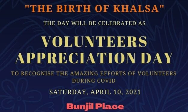 Volunteers Appreciation Day on 10 April 2021 @ Bunjil Place