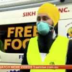 Sikh Volunteers on 7 News Sunrise