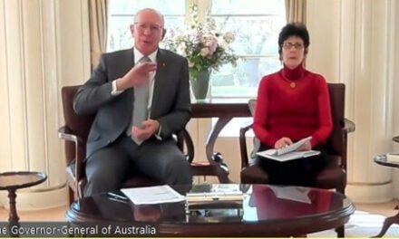 Governor-General of Australia – Speaking with Sikh Volunteers Australia